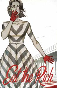 [Eat The Rich #1 (Cover F Frison Blood Red Foil Variant) (Product Image)]