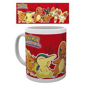 [Pokemon: Mug: Pokemon Fire (Product Image)]