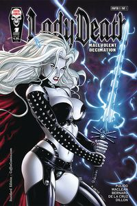 [Lady Death: Malevolent Decimation #1 (Standard Cover) (Product Image)]