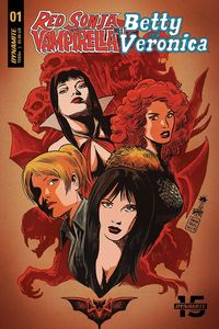 [Red Sonja & Vampirella Meet Betty & Veronica #1 (Cover B Francavilla) (Product Image)]