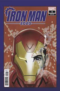 [Iron Man: 2020 #5 (Superlog Heads Variant) (Product Image)]