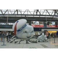 [Ghostbusters at Waterloo Station (Product Image)]