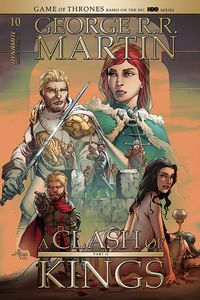 [George R.R. Martin's A Clash Of Kings #10 (Cover B Rubi) (Product Image)]
