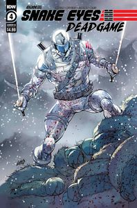 [Snake Eyes: Deadgame #4 (Cover B Liefeld) (Product Image)]