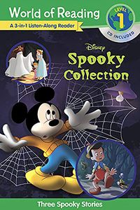 [World Of Reading: Disney's Spooky Collection: 3-In-1 Lisren Along (With CD) (Product Image)]