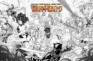 [War Of The Realms #1 (Dauterman Concept Variant) (Product Image)]