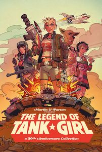 [Legend Of Tank Girl (Signed Hardcover Edition) (Product Image)]