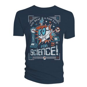 [Dexter's Laboratory: T-Shirt: A Fine Day For Science! (Product Image)]