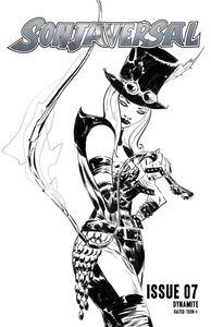 [Sonjaversal #7 (Cover G Lee Black & White Variant) (Product Image)]
