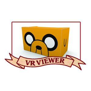 [Adventure Time: VR Viewer and Game Code (Product Image)]