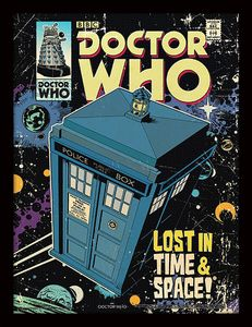 [Doctor Who: Framed Print: Lost In Time & Space (Product Image)]
