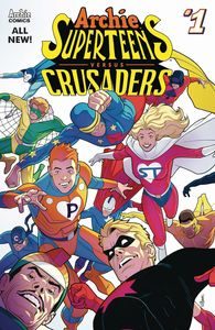 [Archie Superteens Vs Crusaders #1 (Cover A Connecting Cover 1) (Product Image)]