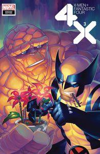 [X-Men: Fantastic Four #3 (Hetrick Flower Variant) (Product Image)]