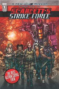 [Scarletts Strike Force #1 (Cover A Tolibao) (Product Image)]