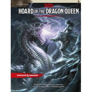 [Dungeons & Dragons: Tyranny Of Dragons: Adventure: Hoard Of The Dragon Queen (Hardcover) (Product Image)]