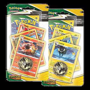 [Pokémon: Sword & Shield: 7: Evolving Skies: Premium Checklane Blister (Product Image)]