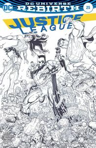 [Justice League #25 (Variant Edition) (Product Image)]