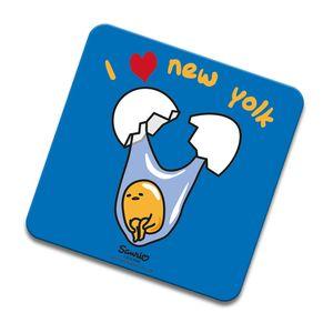 [Gudetama: Coaster: I Heart New Yolk (Product Image)]