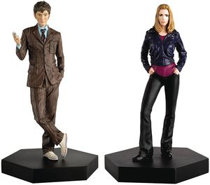 [Doctor Who: Figurine Collection: Companion Set #2: Tenth Doctor & Rose Tyler (Product Image)]