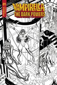 [Vampirella: Dark Powers #1 (Robson Black & White Variant) (Product Image)]