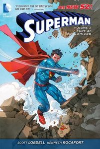 [Superman: Volume 3: Fury At Worlds End (N52) (Product Image)]
