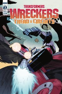 [Transformers: Wreckers: Tread & Circuits #3 (Cover A Thoma) (Product Image)]
