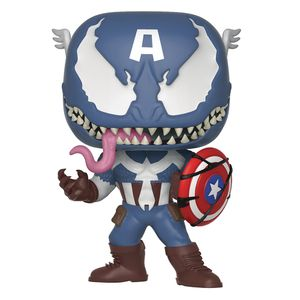 [Marvel: Venom: Pop! Vinyl Figure: Venomised Captain America (Product Image)]