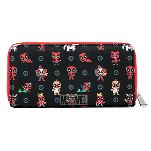 [Deadpool 30th Anniversary: Loungefly Zip Around Wallet (Product Image)]