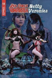 [Red Sonja & Vampirella Meet Betty & Veronica #11 (Cover E Staggs) (Product Image)]