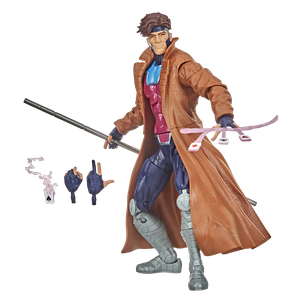 [X-Men: Marvel Legends Vintage Collection Action Figure: Gambit (Product Image)]