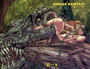 [Jungle Fantasy: Fauna #2 (Wrap Variant) (Product Image)]