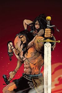 [Cimmerian: Iron Shadows In The Moon #2 (JBstyle Virgin Variant) (Product Image)]