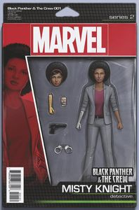 [Black Panther: The Crew #1 (Christopher Action Figure Variant) (Product Image)]