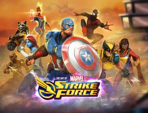 [Marvel Strike Force: Art Of The Game (Hardcover) (Product Image)]
