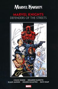 [Marvel Knights: Defenders Of Streets By Dixon & Barreto (Product Image)]