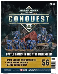 [Warhammer 40K: Conquest: Figurine Collection #56 (Product Image)]