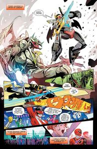 [Mighty Morphin Power Rangers #47 (Mora Variant) (Product Image)]