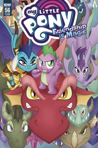 [My Little Pony: Friendship Is Magic #56 (Cover A Garbowska) (Product Image)]