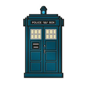 [Doctor Who: Enamel Pin Badge: Thirteenth Doctor's TARDIS (Product Image)]