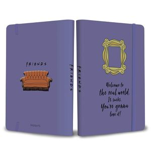 [Friends: Yellow Frame Softcover Notebook (Product Image)]