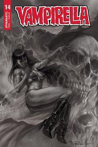 [Vampirella #14 (Parrillo black & White Variant) (Product Image)]