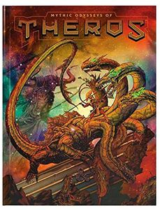 [Dungeons & Dragons: Mythic Odysseys Of Theros (Alternate Hardcover) (Product Image)]