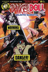 [Danger Doll Squad: Galactic Gladiators #3 (Cover B Celor Risque) (Product Image)]