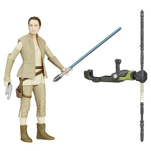[Star Wars: The Force Awakens: Jungle & Space Wave 4 Action Figures: Rey Resistance Outfit (Product Image)]