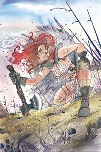 [Red Sonja: Age Of Chaos #2 (Peach Momoko Variant) (Product Image)]