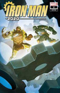 [Iron Man: 2020 #2 (Del Mundo Variant) (Product Image)]