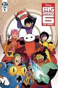 [The cover for Big Hero 6 #1 (Cover A Gurihiru)]