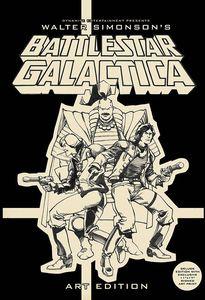 [Battlestar Galactica: By Walter Simonson: Art Edition: Signed (Hardcover) (Product Image)]