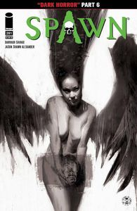 [Spawn #281 (Cover B Black & White Alexander) (Product Image)]