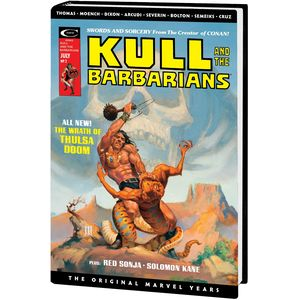[Kull Savage: Original Marvel Years: Omnibus (Whelan DM Variant Hardcover) (Product Image)]